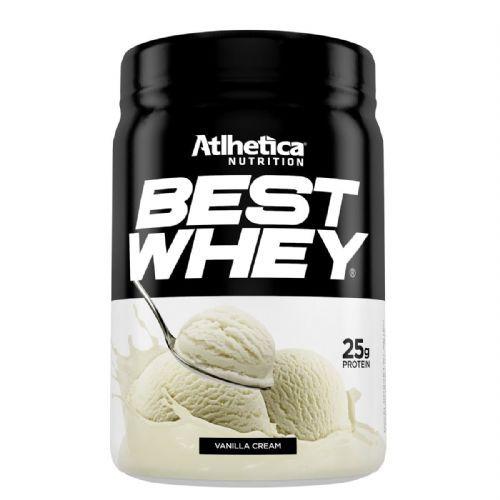 Best Whey - 450g Vanilla Cream - Atlhetica Nutrition no Atacado