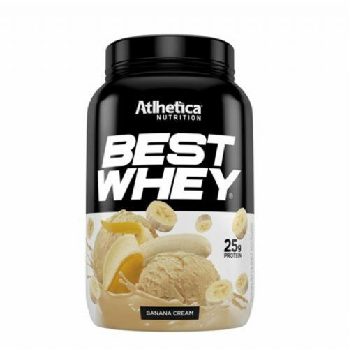 Best Whey - 900g Banana Cream - Atlhetica Nutrition no Atacado