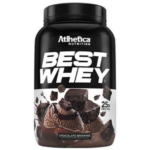 Best Whey - 900g Brownie Chocolate - Atlhetica Nutrition no Atacado
