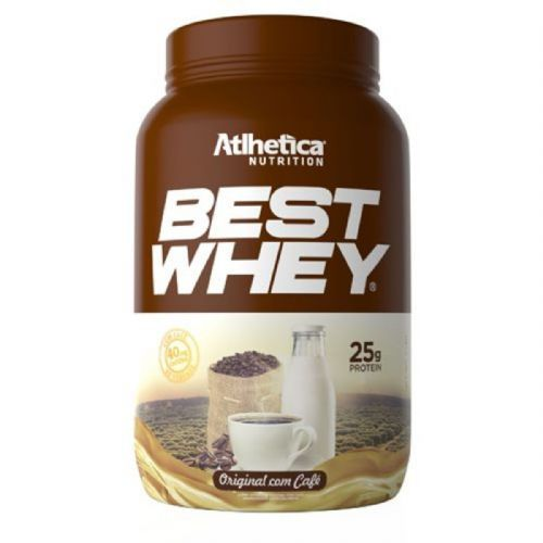 Best Whey - 900g Original com Café - Atlhetica Nutrition no Atacado