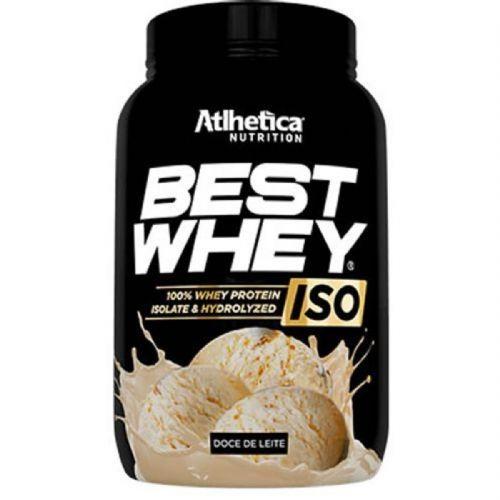 Best Whey Iso - 900g Doce de Leite - Atlhetica  Nutrition no Atacado