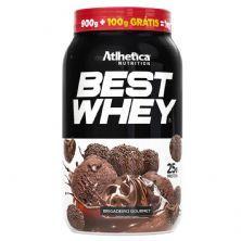 Best Whey Promocional - 900g + 100g Grátis  Brigadeiro Gourmet - Atlhetica Nutrition
