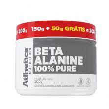 Beta-Alanine 100% Pure - 150g + 50g Grátis Sem Sabor - Atlhetica Nutrition
