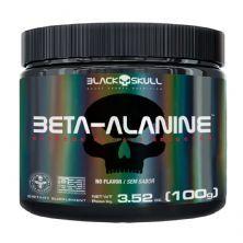 Beta-Alanine - 100g Sem Sabor - Black Skull