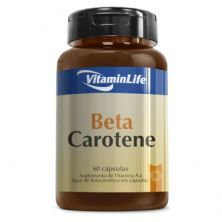 Beta Carotene - 60 Cápsulas - VitaminLife