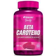 Beta Caroteno 500mg -  60 Cápsulas - Herbamed