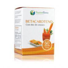 Betacaroteno - 60 Cápsulas - Nutreflora