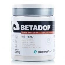 Betadop Pré-Treino- 300g Tangerina - ElementoPuro