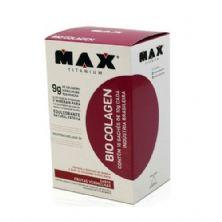 Bio Colagen - 10 sachês de 10g  Sabor Frutas Vermelhas - Max Titanium