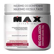 Bio Colagen - 150g Frutas Vermelhas - Max Titanium