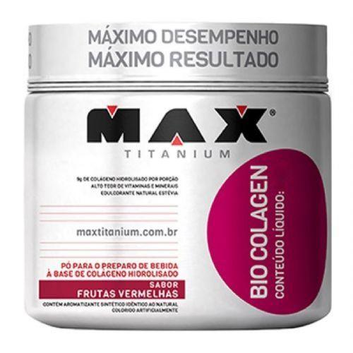 Bio Colagen - 300g Frutas Vermelhas - Max Titanium no Atacado