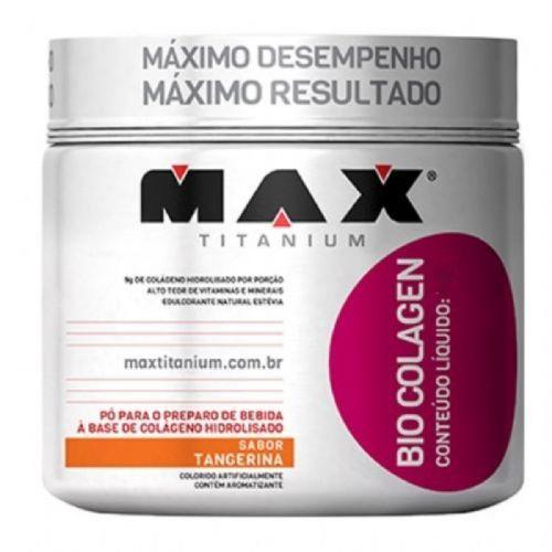 Bio Colagen - 300g Tangerina - Max Titanium no Atacado