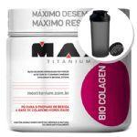 Bio Colagen - Sabor Frutas Vermelhas 150g + Coqueteleira 600ml Preta - Max Titanium no Atacado