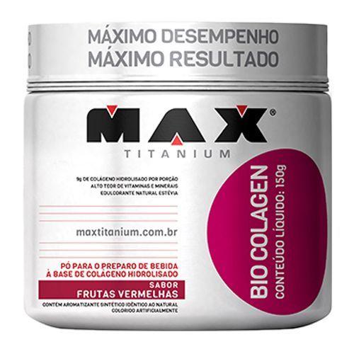 Bio Colagen - Sabor Frutas Vermelhas 300g - Max Titanium
