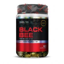 Black Bee Cafeína - 60 Cápsulas - Probiótica