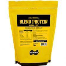 Blend Protein Albumina e Whey - 1000g  Chocolate - Naturovos