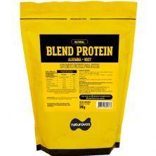 Blend Protein Albumina e Whey - 1000g  Natural - Naturovos