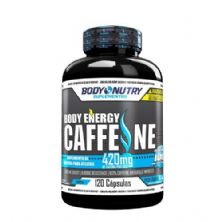 Body Energy Caffeine -120 Cápsulas - Body Nutry