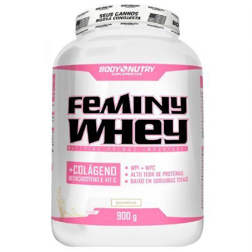 Body Feminy Whey Colágeno - 900g Baunilha - Body Nutry no Atacado