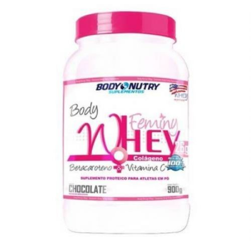 Body Feminy Whey Colágeno - 900g Chocolate - Body Nutry no Atacado