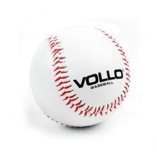 Bola Beisebol Branca PVC com Miolo de Cortiça e Borracha- Vollo Sports