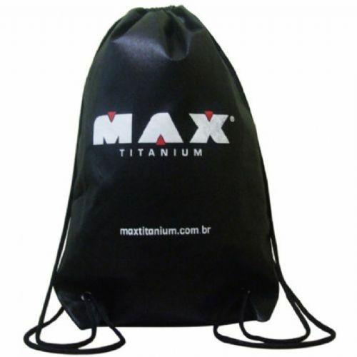 Bolsa Mochila TNT Preta - Max Titanium no Atacado