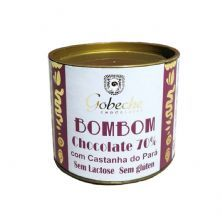 BomBom Chocolate 70% - 120g Com Castanha do Pará - Gobeche