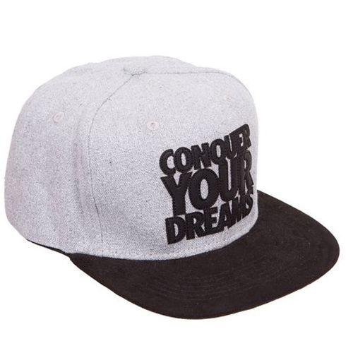 Boné Conquer Your Dreams - Aba Reta Cinza - Iridium Labs