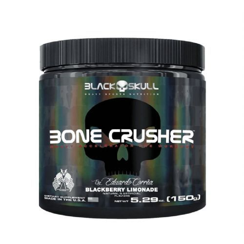 Bone Crusher - 150g Blackberry Lemonade - Black Skull no Atacado
