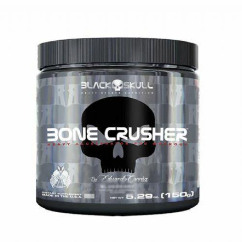 Bone Crusher - 150g Fruit Punch - Black Skull no Atacado