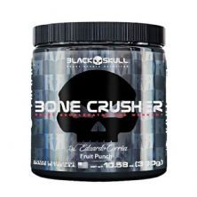 Bone Crusher - 300g Fruit Punch/Frutas Vermelhas - Black Skull