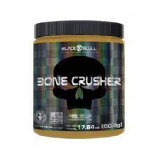 Bone Crusher Pre Workout Peanut Butter - 500g Banana - Black Skull