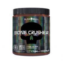 Bone Crusher Pre Workout Peanut Butter - 500g Chocolate - Black Skull