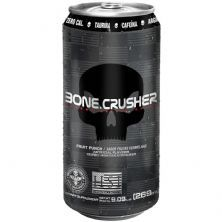 Bone Crusher Xtreme Energy Drink - 269ml Frutas Vermelhas - Black Skull