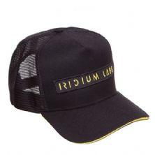 Boné Iridium Labs - Trucker - Preto - Iridium Labs