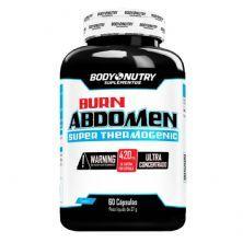 Burn Abdomen - 60 Cápsulas - Body Nutry