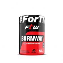 Burnway - 60 Cápsulas - FTW