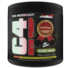 C4 Beta Pump Extreme Pre-Workout - 225g Limão - New Millen