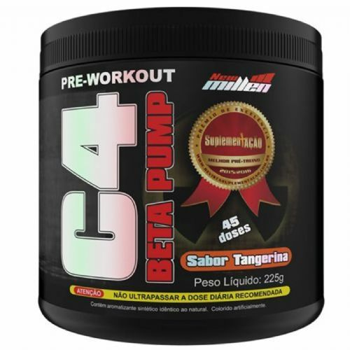 C4 Beta Pump Extreme Pre-Workout - 225g Tangerina - New Millen no Atacado