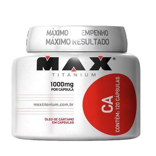 CA - 120 cápsulas - Max Titanium