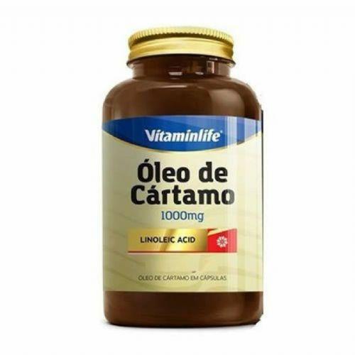CA Linoleic Acid Óleo de Cártamo e Ácido Linoleico - 120 Cápsulas - VitaminLife no Atacado