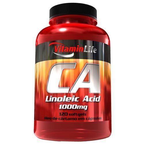 CA Linoleic acid - Óleo de Cártamo e Ácido Linoleico 200 cápsulas - VitaminLife