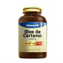 CA Linoleic Acid Óleo de Cártamo e Ácido Linoleico - 200 Cápsulas - VitaminLife