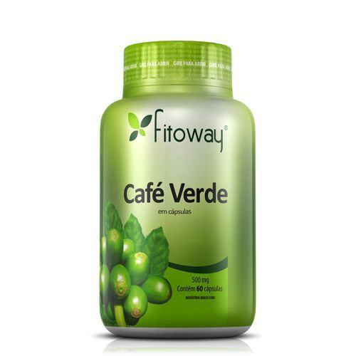 Café Verde - 60 Cápsulas - Fitoway no Atacado