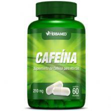 Cafeina 210mg 60 Cápsulas - Herbamed