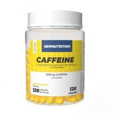 Caffeine 200mg - 120 Cápsulas - NewNutrition
