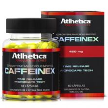 Caffeinex Evolution Series - 60 Cápsulas 420mg Cafeína - Atlhetica Nutrition