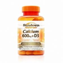 Calcium 600 Mg+D3 - 180 Comprimidos - Sundown