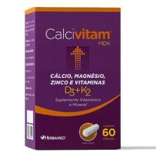 Calcivitam 600mg 60 Cápsulas - Herbamed
