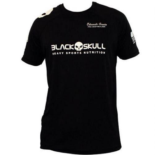 Camiseta Dry Fit - Preta Tamanho G - Black Skull no Atacado